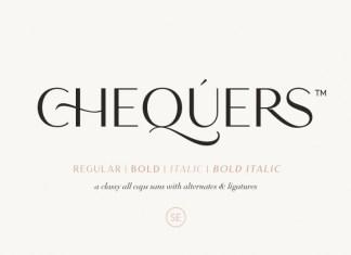Chequers Sans Serif Font