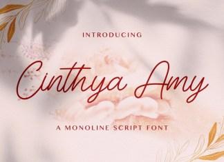 Cinthya Amy Handwritten Font
