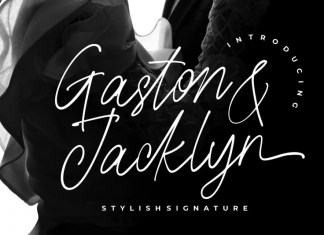Gaston & Jacklyn Handwritten Font