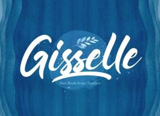 Gisselle Script Font