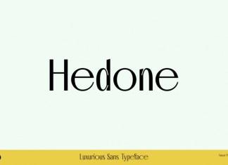 Hedone Sans Serif Font