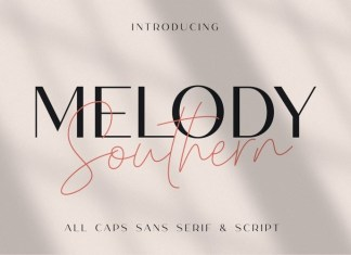 Melody Southern Font Duo