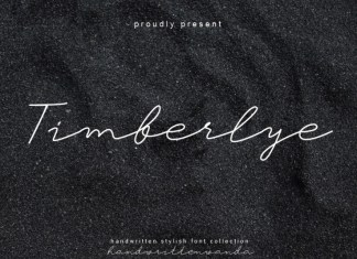 Timberlye Handwritten Font