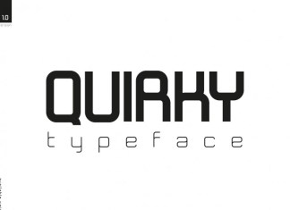 Quirky Display Font