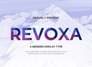 Revoxa Sans Serif Font