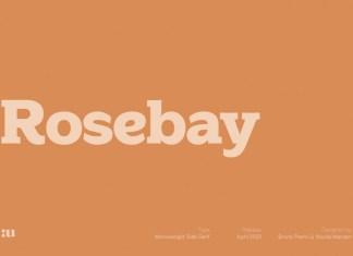 Rosebay Rounded Font