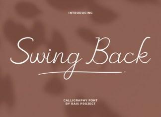 Swing Back Font
