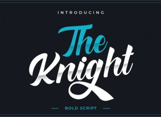 The Knight Bold Script Font