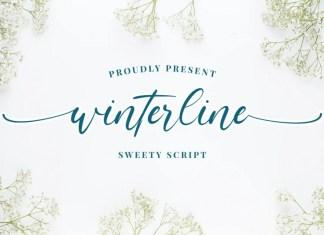Winterline Calligraphy Font