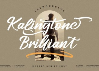 Kalingtone Brilliant Script Font