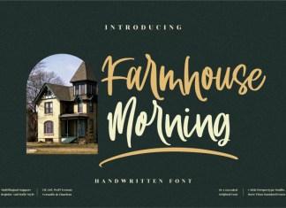Farmhouse Morning Script Font