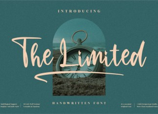 The Limited Script Font