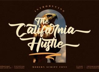 The California Hustle Script Font