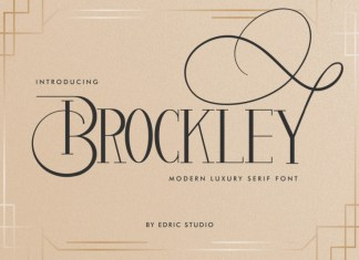 Brockley Serif Font