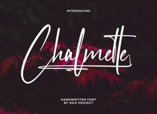 Chalmette Script Font