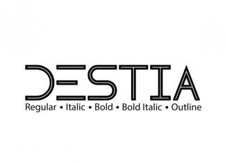 Destia Display Font