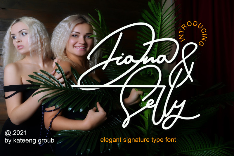 Diana And Shelly Handwritten Font