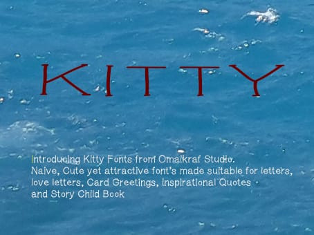 Kitty Display Font