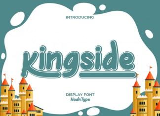 Kingside Display Font