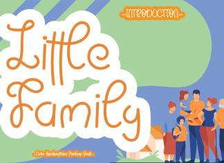 Little Family Handwritten Font