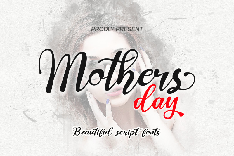 Mothers Day Script Font