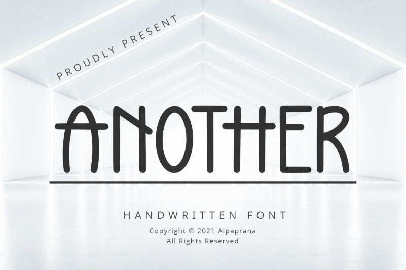 Another Display Font