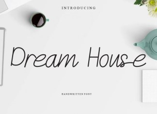 Dream House Handwritten Font