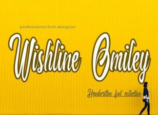Wishline Omiley Script Font