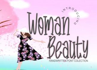 Woman Beauty Display Font