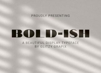 Bold-ish Sans Serif Font