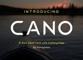 Cano Sans Serif Font