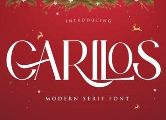 Carilos Serif Font