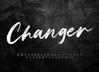 Changer Brush Font