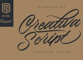 Creativa Script Font