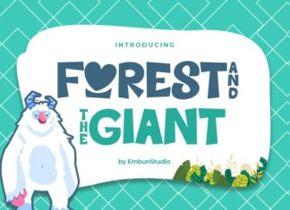 Forest & The Giant Display Font