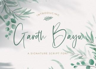 Gareth Bayu Handwritten Font