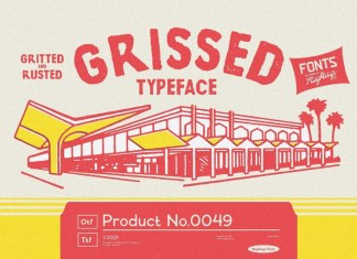 Grissed Display Font