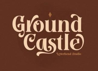Ground Castle Serif Font