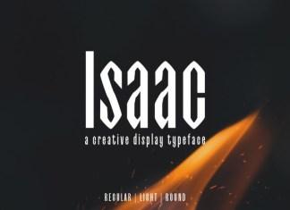 Isaac Display Font