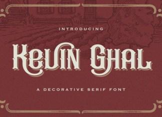 Kevin Ghal Display Font