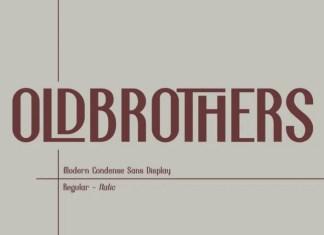Oldbrothers Sans Serif Font