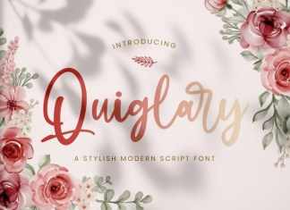 Quiglary Handwritten Font