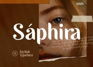 Saphira Sans Serif Font