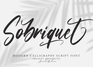 Sobriquet Script Font