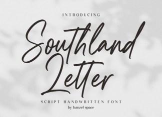 Southland Letter Script Font