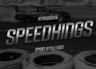 Speedkings Display Font