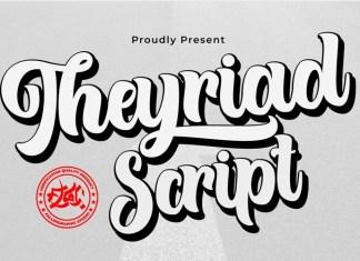 Theyriad Bold Script Font