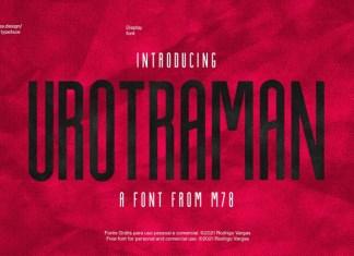 Urotraman Display Font