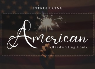 American Script Font