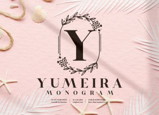 Yumeira Monogram Display Font